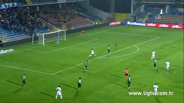 Resumo: Karabükspor 2-1 Akhisar Belediyespor (24 Outubro 2014)