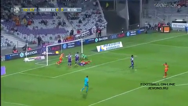Resumo: Toulouse 0-2 Lens (24 Outubro 2014)