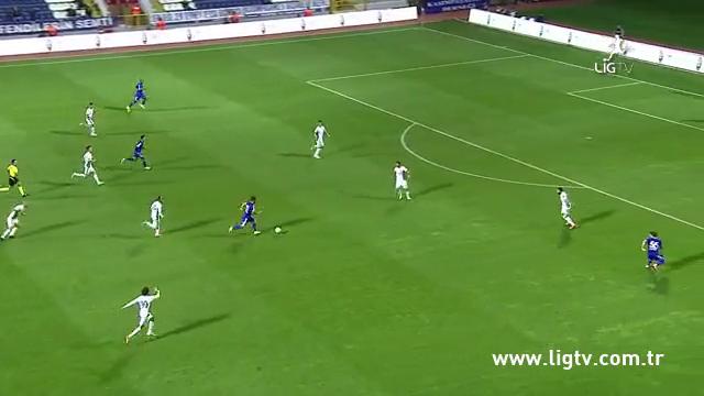 Resumo: Kasımpaşa 2-0 Konyaspor (24 Outubro 2014)