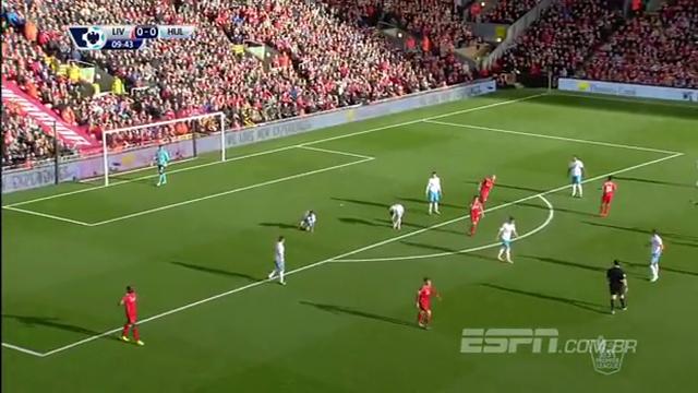 Resumo: Liverpool 0-0 Hull City (25 Outubro 2014)