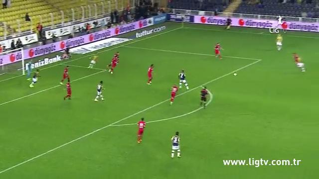 Resumo: Fenerbahçe 2-1 Gençlerbirliği (25 Outubro 2014)