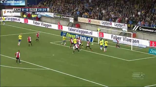 Resumo: Cambuur 0-1 Feyenoord (26 Outubro 2014)