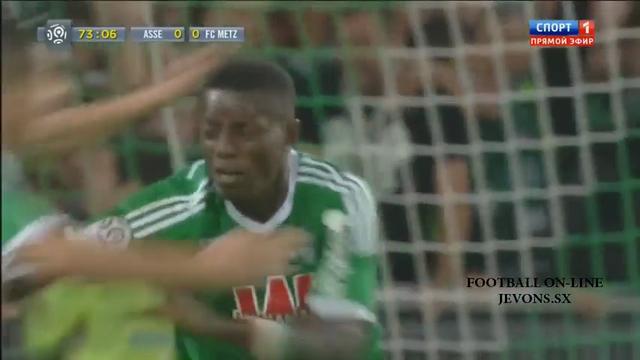 Saint-Étienne 1-0 Metz - Golo de M. Gradel (74min)
