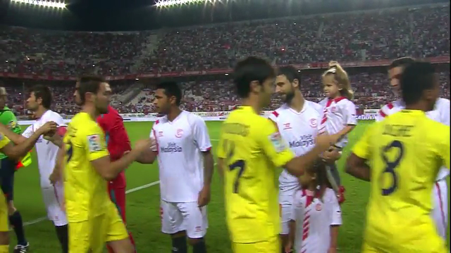 Resumo: Sevilla 2-1 Villarreal (26 October 2014)