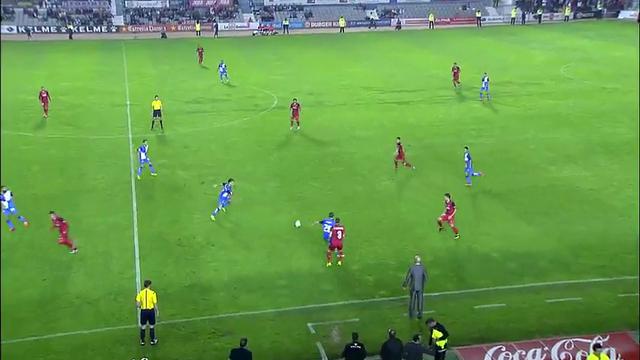 Resumo: Sabadell 1-6 Sevilla (29 Outubro 2014)