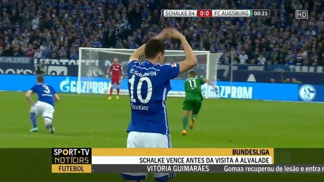 Resumo: Schalke 04 1-0 Augsburg (31 Outubro 2014)
