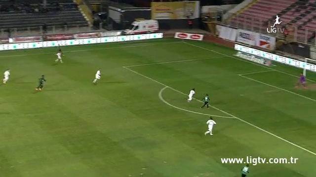 Resumo: Akhisar Belediyespor 1-1 Trabzonspor (1 Novembro 2014)