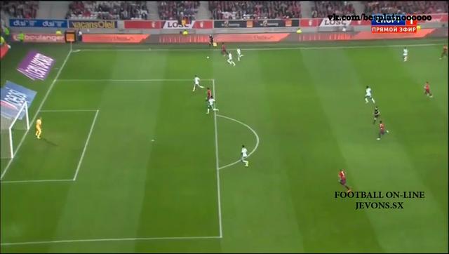 Resumo: Lille 1-1 Saint-Étienne (1 Novembro 2014)