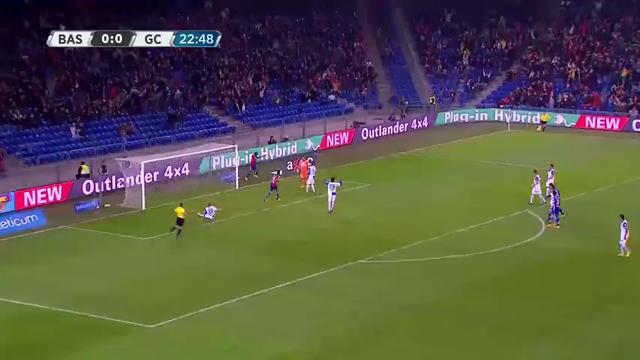 Resumo: Basel 2-0 Grasshopper (1 Novembro 2014)
