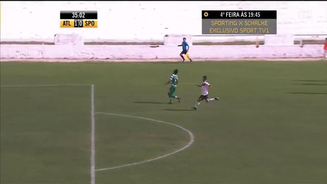 Resumo: Atlético CP 5-0 Sporting CP II (2 Novembro 2014)