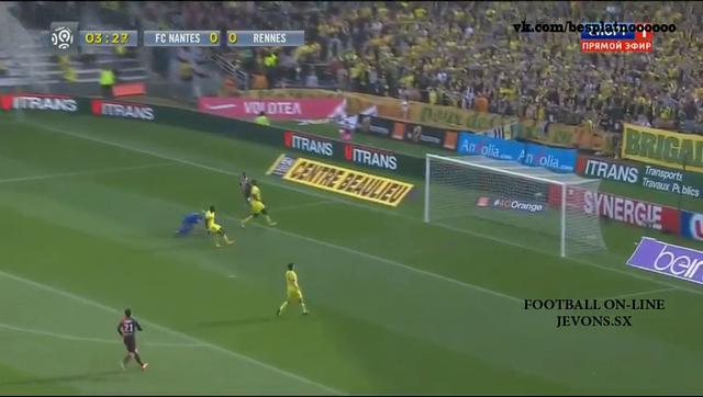 Resumo: Nantes 1-1 Rennes (2 Novembro 2014)