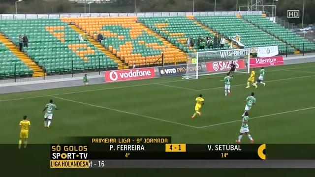 Resumo: Paços de Ferreira 4-1 Vitória Setúbal (2 Novembro 2014)