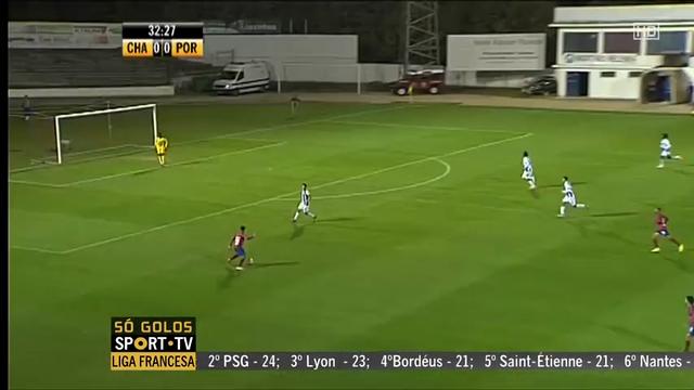 Resumo: Chaves 0-0 Porto II (2 Novembro 2014)