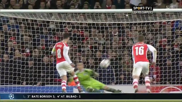 Arsenal Anderlecht goals and highlights