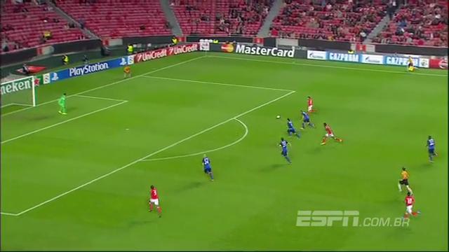 Resumo: Benfica 1-0 Monaco (4 Novembro 2014)