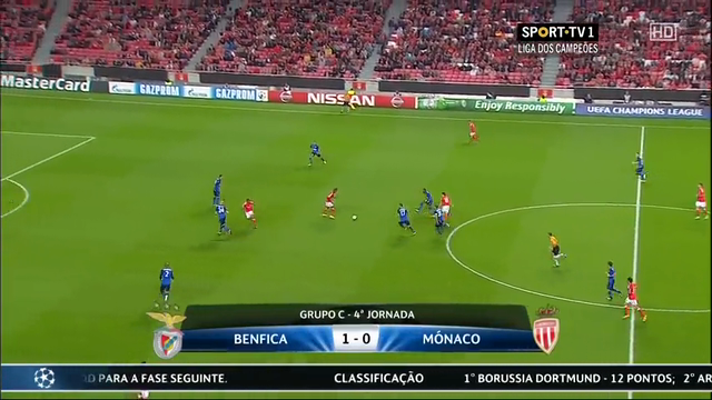 Benfica Monaco goals and highlights