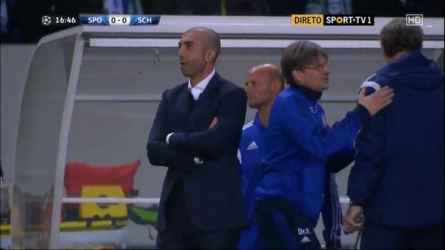 Sporting Lisbon Schalke goals and highlights