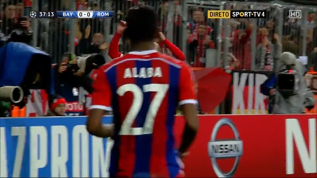 Bayern Munich AS Roma goals and highlights