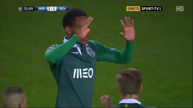 Sporting CP 4-2 Schalke 04 - Golo de Nani (72min)
