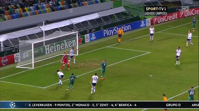 Resumo: Sporting CP 4-2 Schalke 04 (5 Novembro 2014)