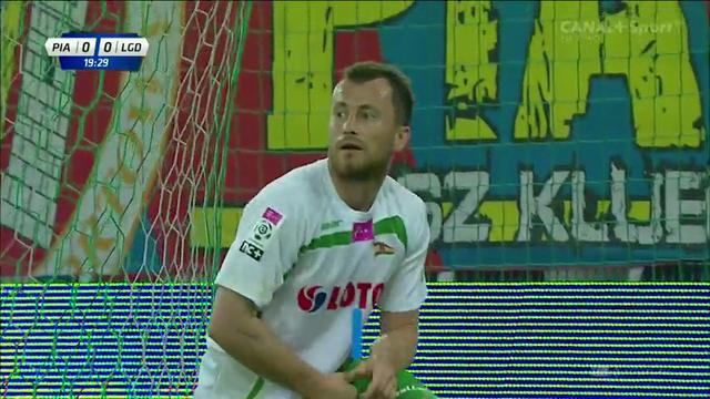 Resumo: Piast Gliwice 1-3 Lechia Gdańsk (1 Agosto 2014)