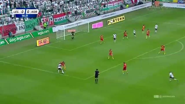 Resumo: Legia Warszawa 2-0 Korona Kielce (24 Agosto 2014)