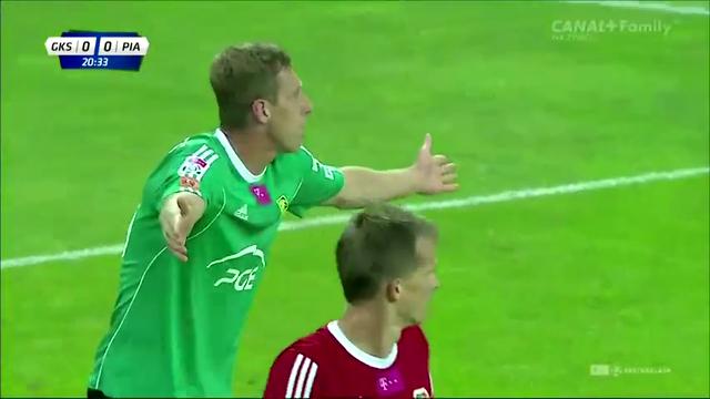 Resumo: Bełchatów 0-0 Piast Gliwice (25 Agosto 2014)