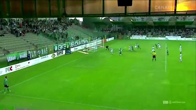 Resumo: Bełchatów 1-1 Lechia Gdańsk (14 Setembro 2014)
