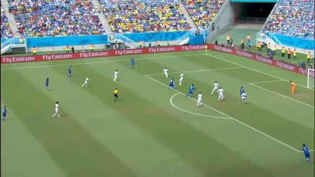 İtalya 0-1 Uruguay Maç Özeti