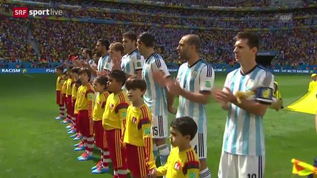 Arjantin 1-0 Belçika Maç Özeti