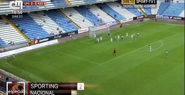 Resumo: Sporting CP vs Nacional (10 Agosto 2014)