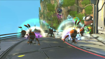 Ratchet & Clank: All 4 One 'Weapons' Gameplay Series
