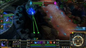 First Look at League of Legends: Dominion Gameplay