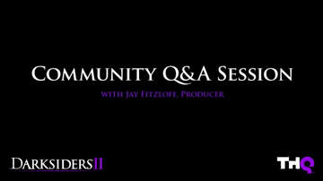 Darksiders II | Community Q&A Session with Jay Fitzloff (HD)