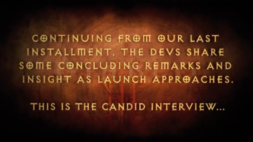 Diablo III Fifth Video Developer Diary (HD)
