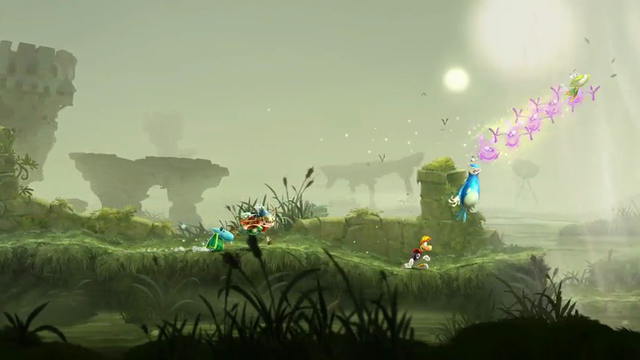 Rayman Legends | Toad Story Level Walkthrough