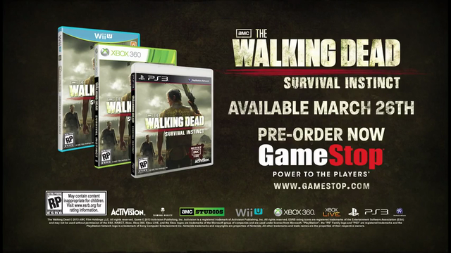 The Walking Dead: Survival Instinct | Launch Date Announcement