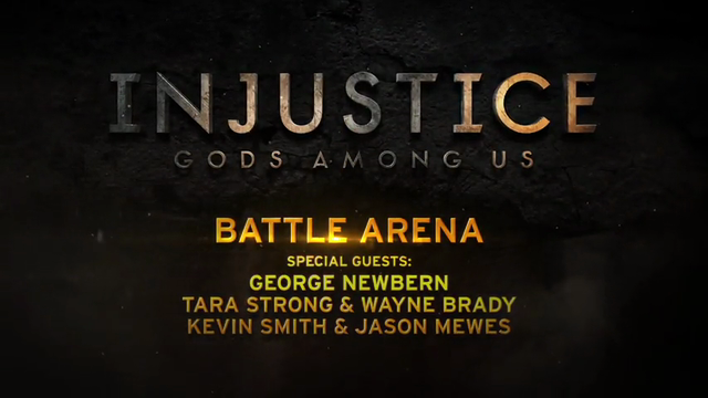 Injustice: Gods Among Us - Superman vs. Sinestro and Green Arrow vs. Hawkgirl