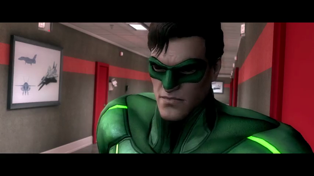 Injustice: Gods Among Us | Green Lantern's Struggle