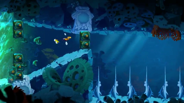 Rayman Legends | 'Gloo Gloo' Musical Map Walkthrough