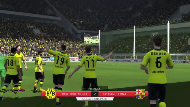 FIFA 14 Graphics Comparison Xbox 360/ Xbox One