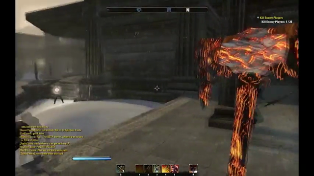 This is... The Elder Scrolls Online PVP