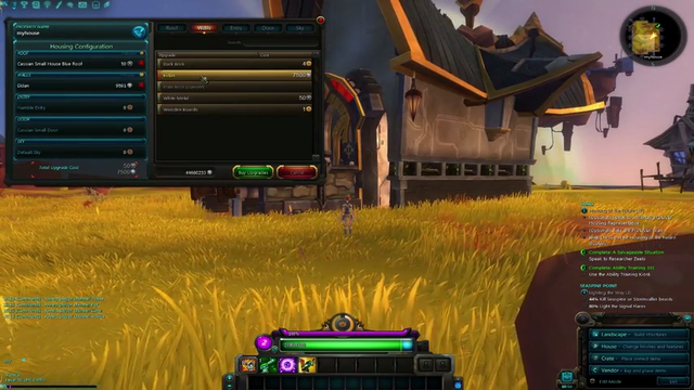 Wildstar Housing Gameplay