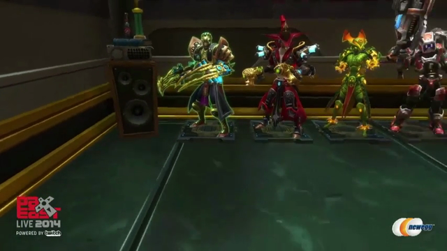 WildStar | PAX East Clip: 40-player raid armor