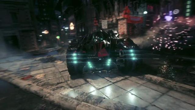 Batman: Arkham Knight | Batmobile Battle Mode Reveal