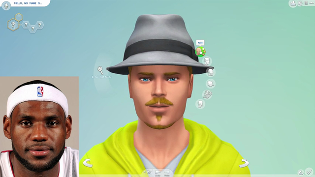 The Sims 4 | Creating the traitorous LeBron James