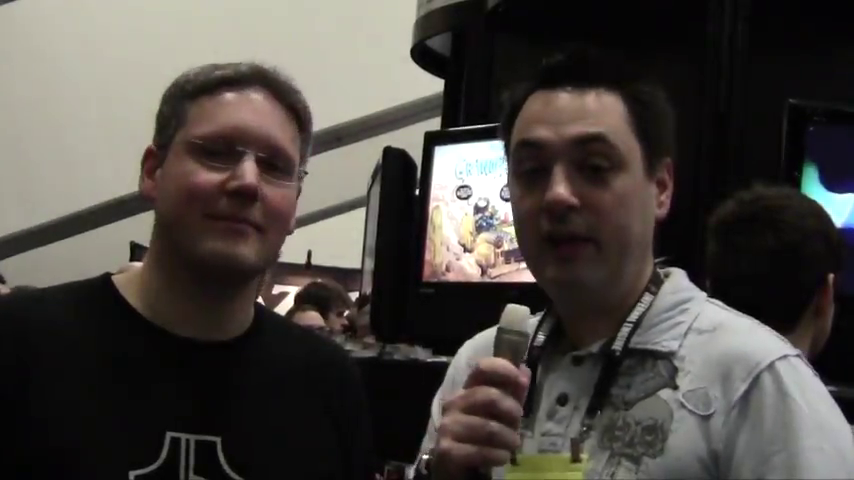 "GDC 2011 - IGF Winner ""Tiny & Big"" Interview and Gameplay"