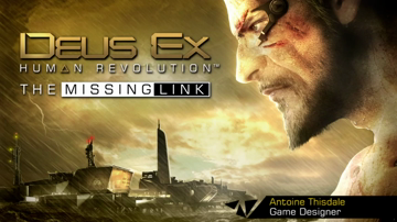 "Deus Ex: Human Revolution - DLC ""The Missing Link"" Walkthrough Video"