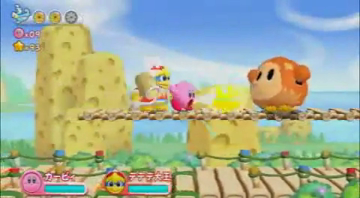 Kirby's Return to Dreamland - Multiplayer Video