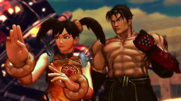 Street Fighter X Tekken - Ogre and Jin trailer